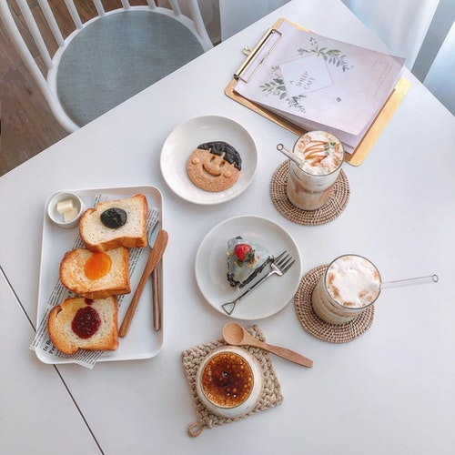 A Sheep Cafe