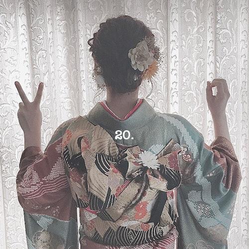 【成人式】成人式ショット