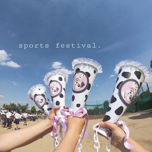 体育祭メガホン