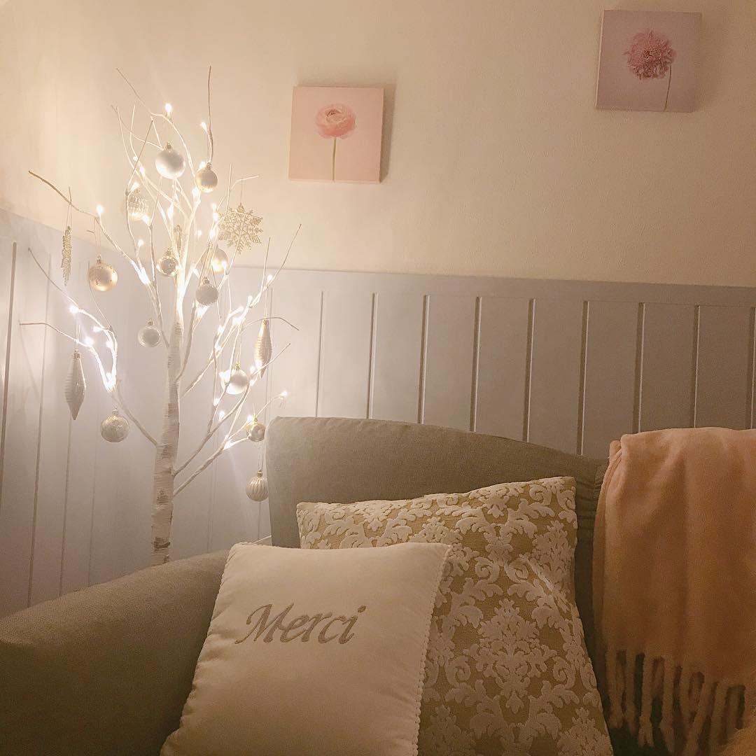 ニトリの白樺ツリー