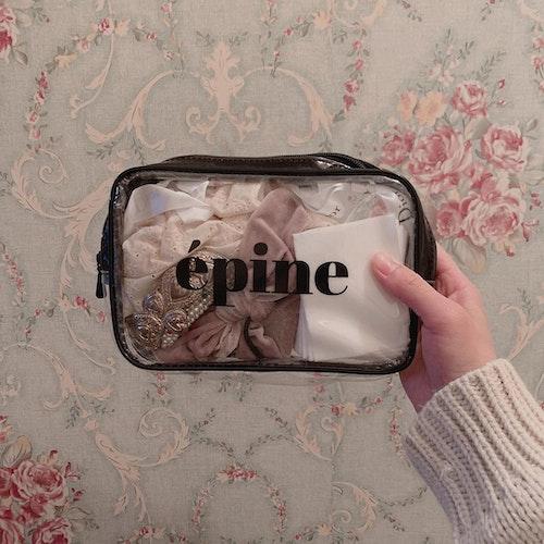 epineのクリアポーチ