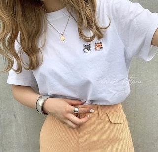 メゾンキツネTシャツ