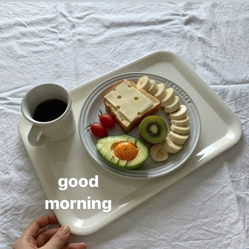 おしゃれ朝ごはん