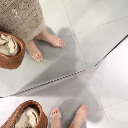 かぎ編みスカート