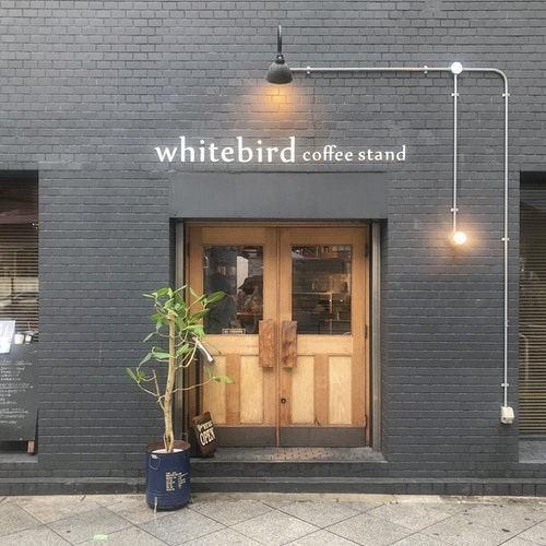 Whitebird coffee stand