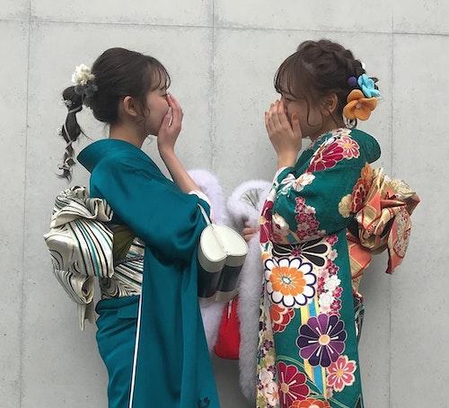 【成人式】ハタチ記念写真