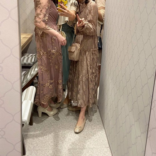 【成人式】同窓会ドレス