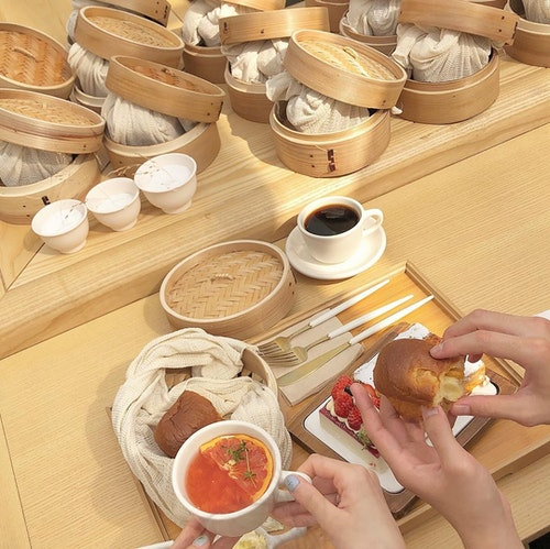 韓国パン屋さん
