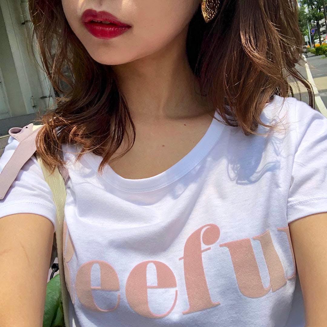 メゾンドリーファーロゴTシャツ