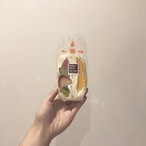 おすすめフルーツサンド