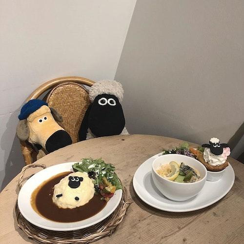 ひつじのショーンカフェ