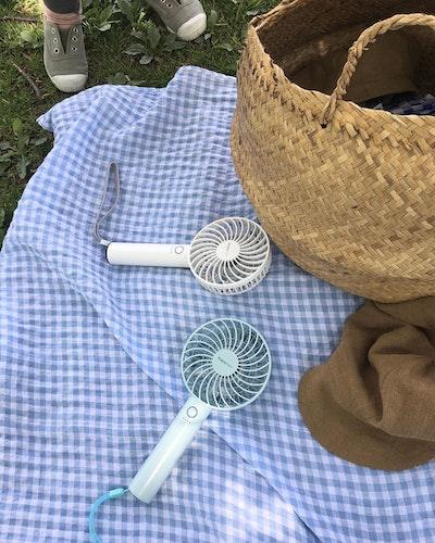 Francfrancの小型扇風機