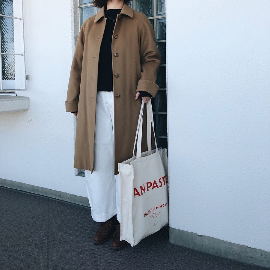 Melrose and Morganのトートバッグ