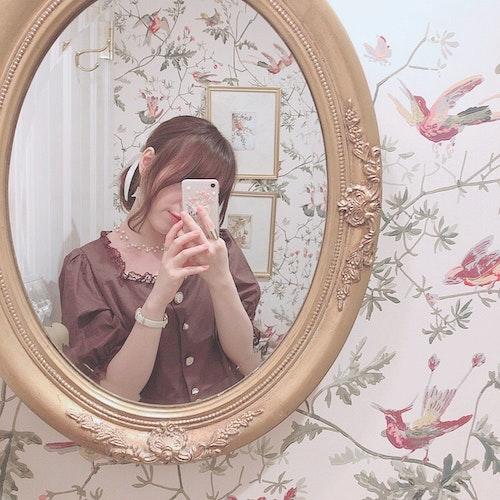 鏡越し写真
