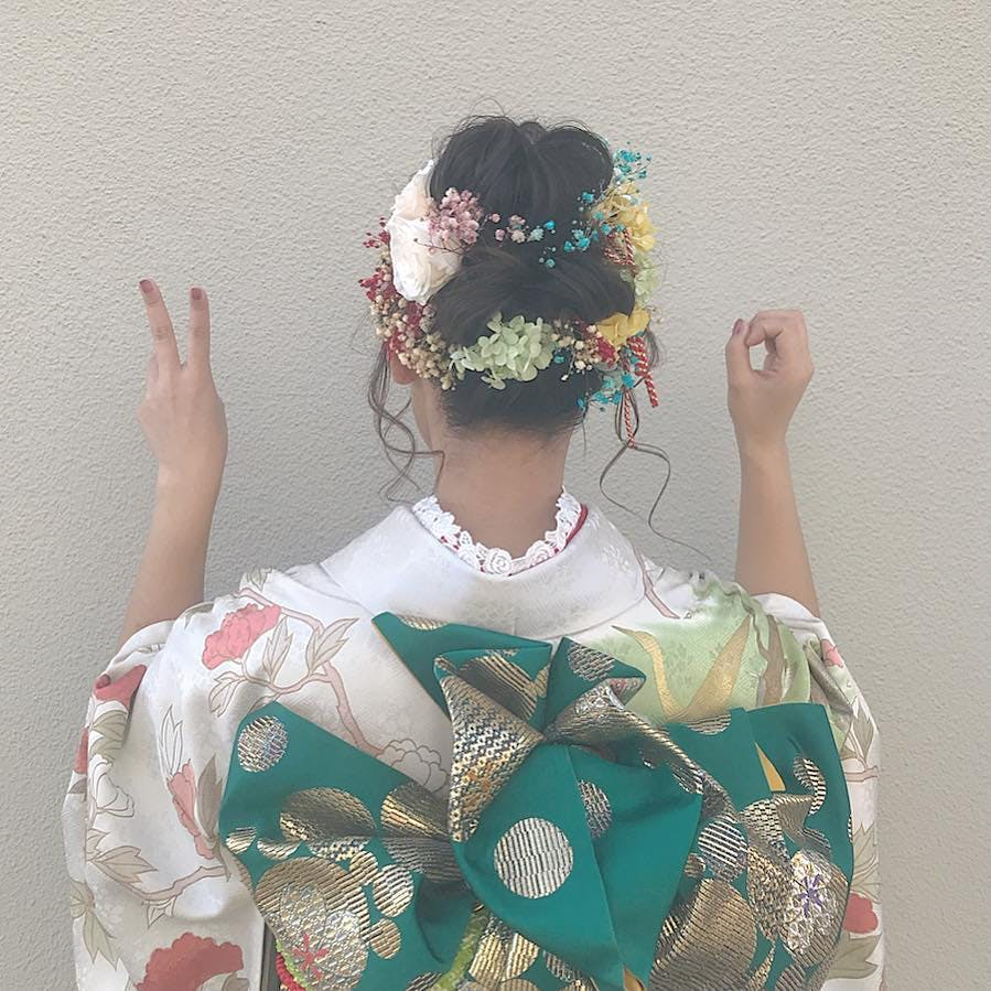 【成人式】20ポーズ
