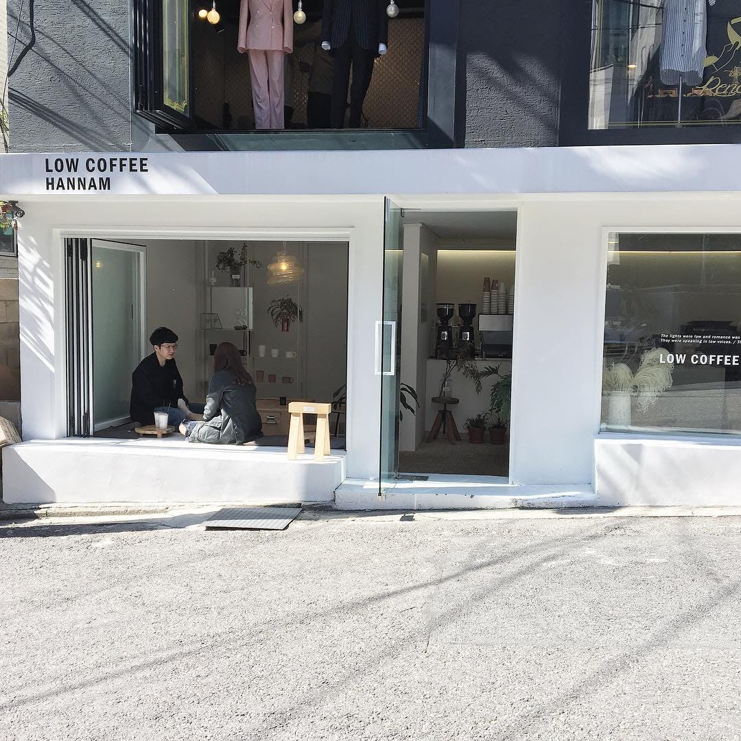 LOW COFFEE HANNAM(韓国)