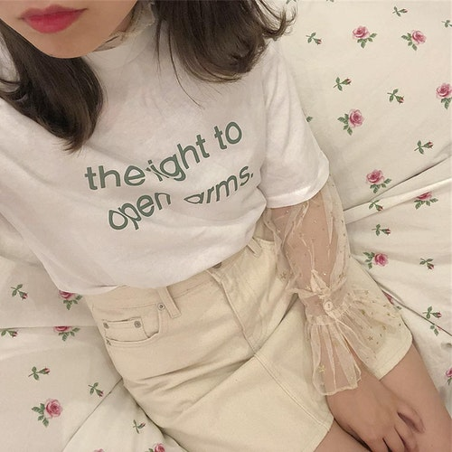 Tシャツレイヤード