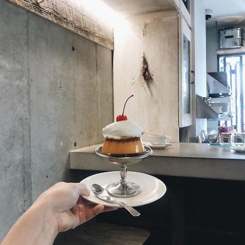 Feb's coffee & scone