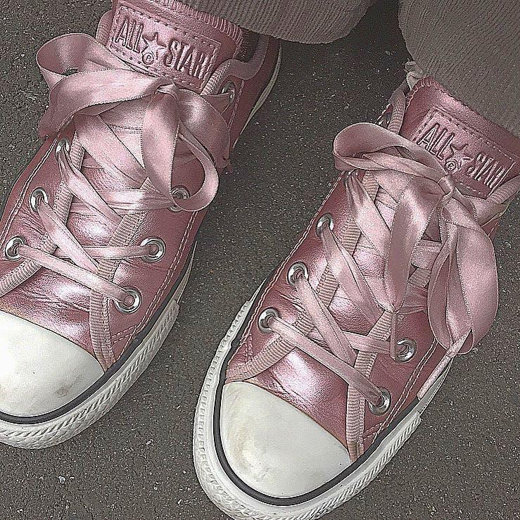 靴紐リボン