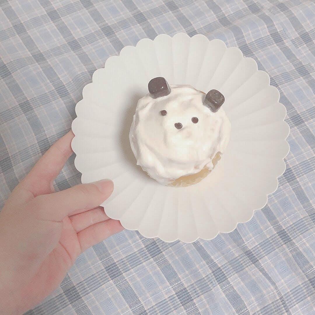 手作りカップケーキ