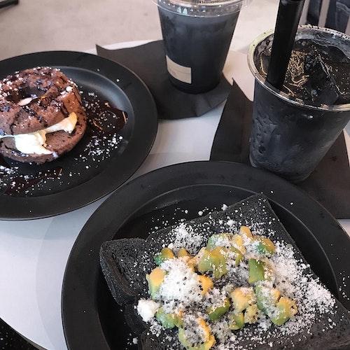 黒い食べ物