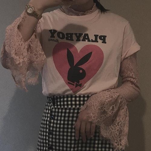 半袖+長袖レイヤード