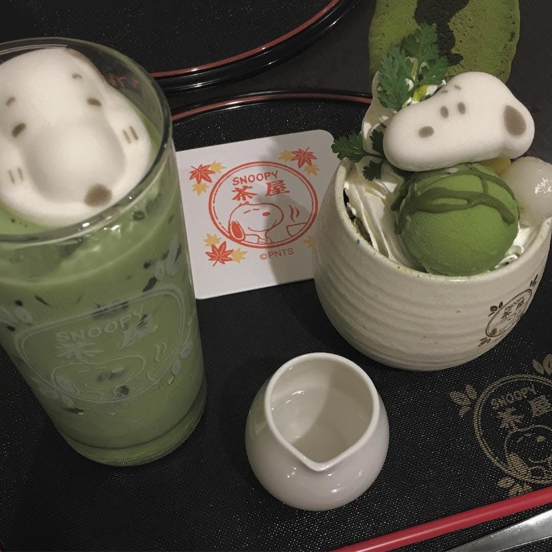 スヌーピー茶屋(京都・錦)