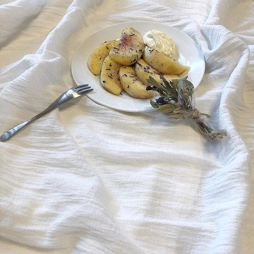 桃のアールグレイマリネ
