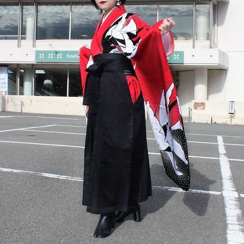 和服×足袋シューズ