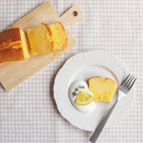手作りパウンドケーキ