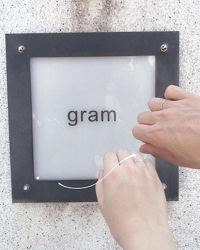gramのオーダーメイドリング