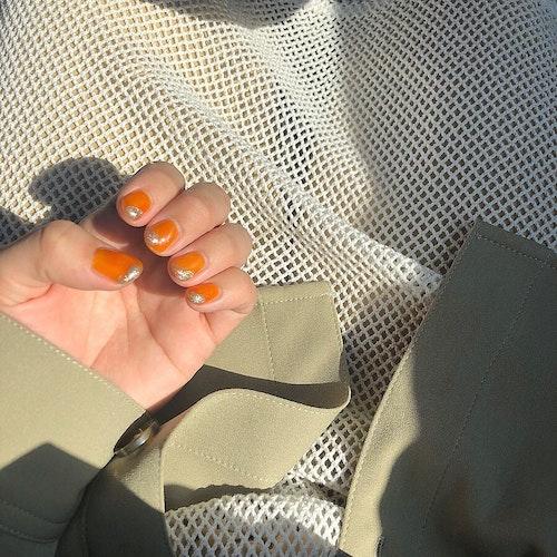 オレンジネイル
