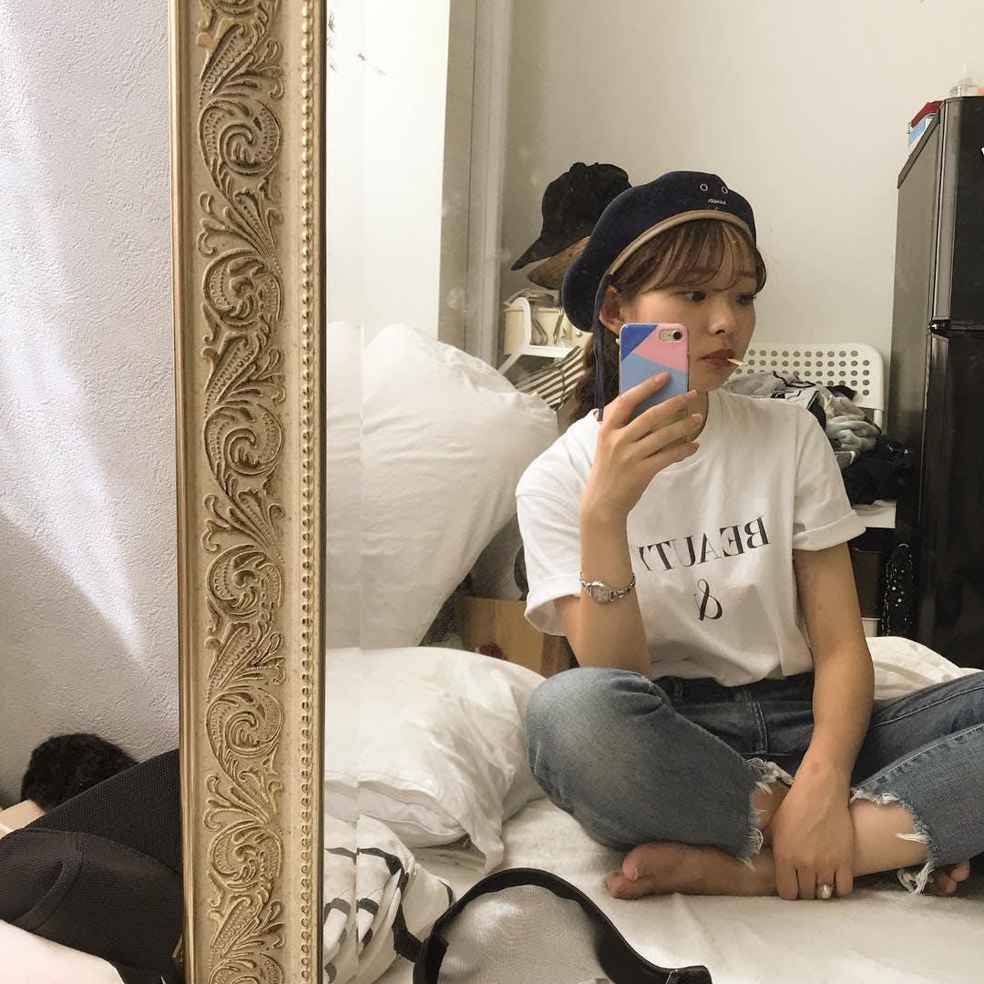 アンティーク鏡