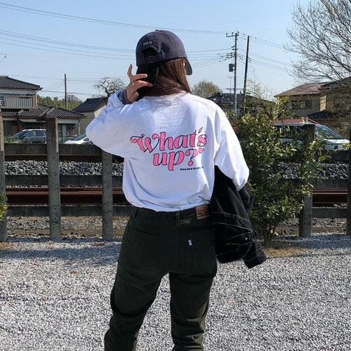 What's up? Tシャツ