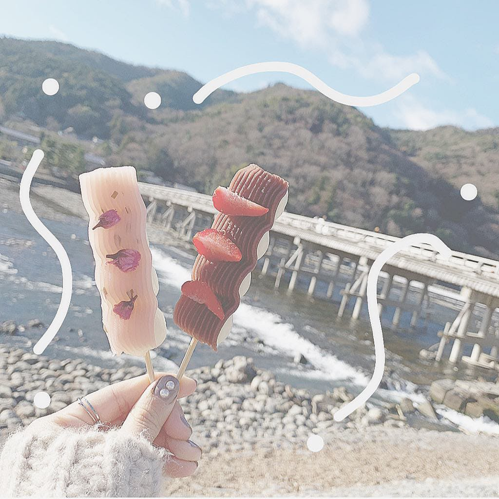 華美だんご(京都・嵐山)
