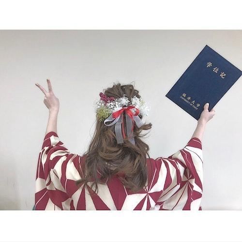 卒業式コーデ