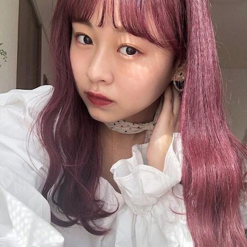 赤ピンク系カラー