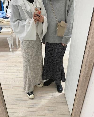 春っぽマーメイドスカート