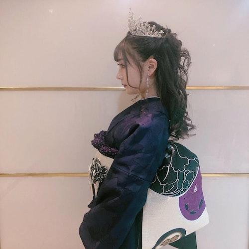 【2020成人式】ママ振りアレンジ