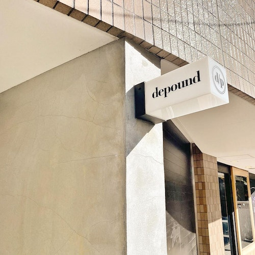 depound POP-UP STORE
