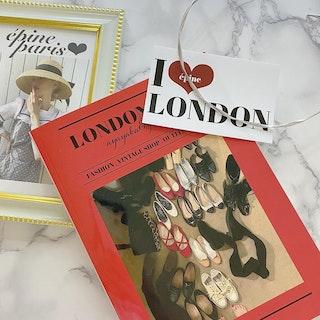 epine LONDON journey book