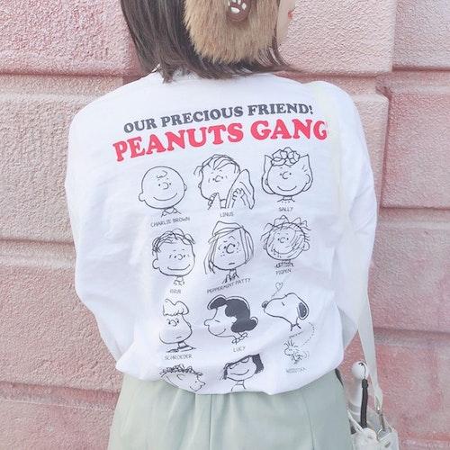 GUのスヌーピーTシャツ