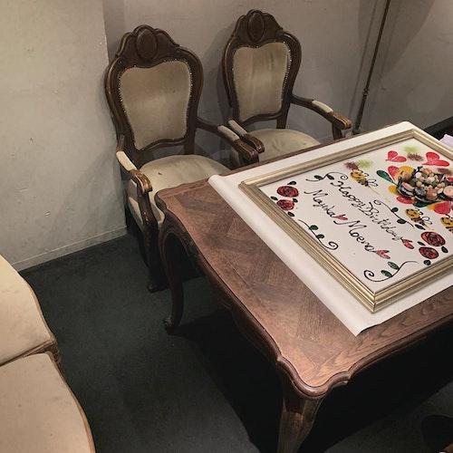 誕生日テーブルアート