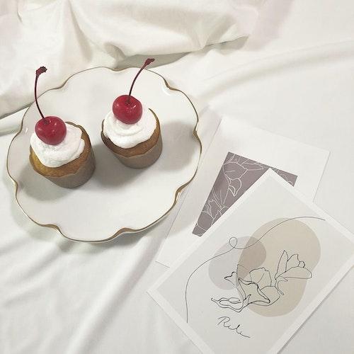 韓国風カップケーキ