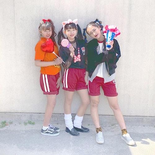 体育祭ヘアアレンジ