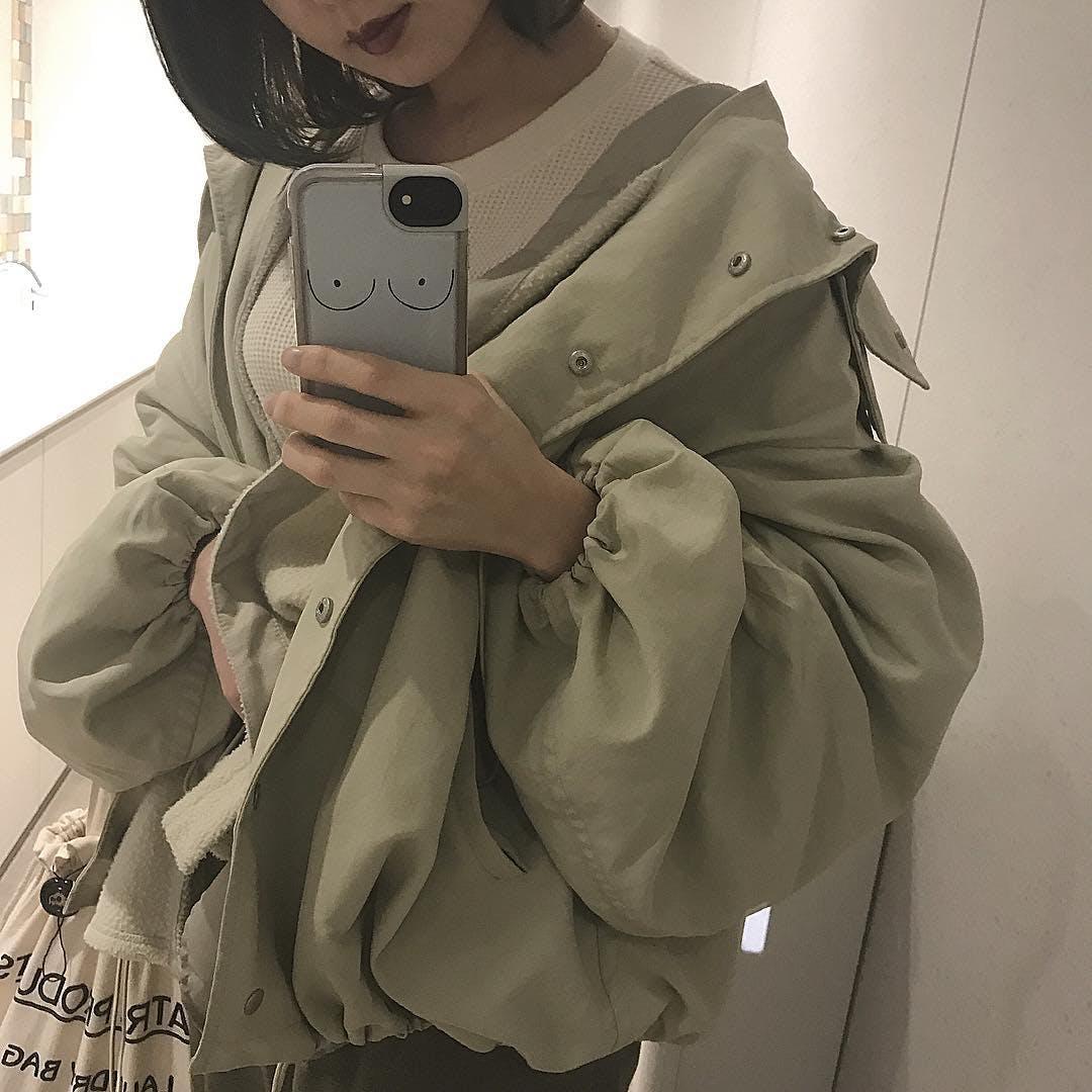 バルーン袖