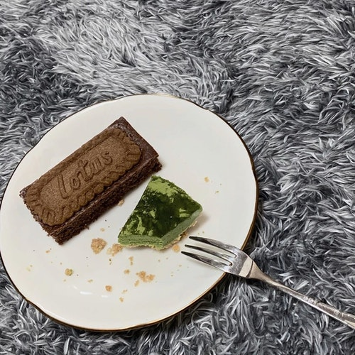 食べかけ写真