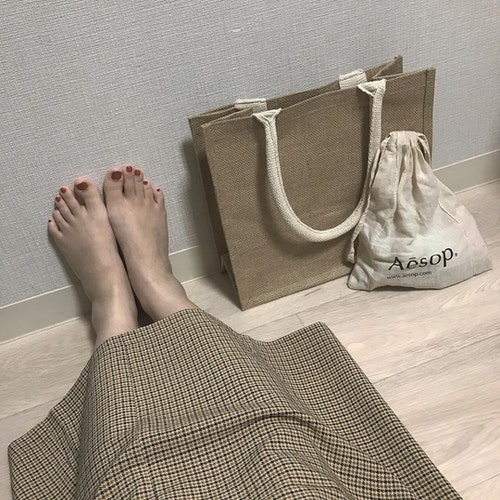無印 ジュートマイバッグ