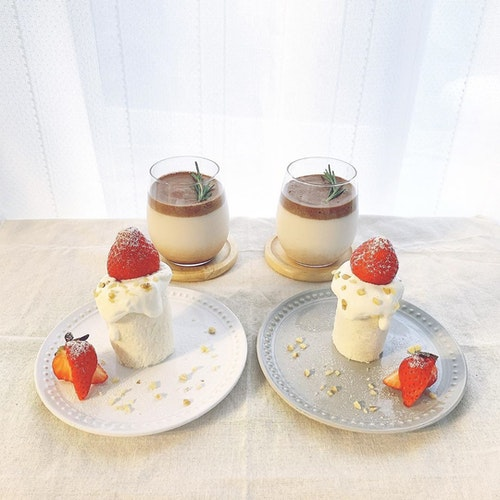 手作りキャンドルケーキ