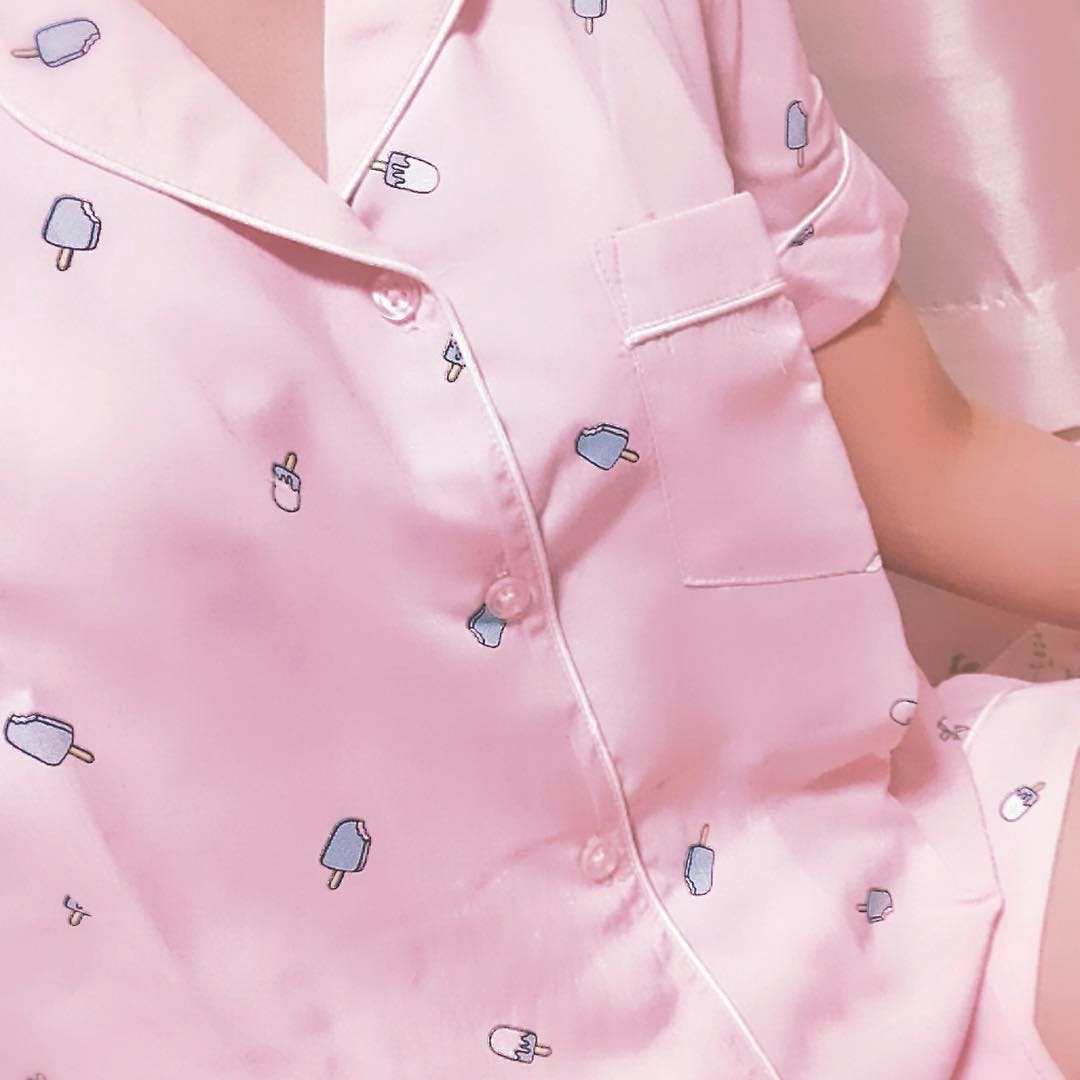 GUアイス柄パジャマ